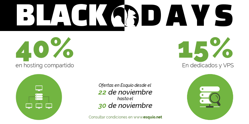 black days 2018 en esquio.net